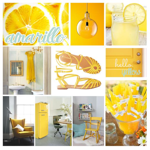 colores verano 2014 amarillo pinterest