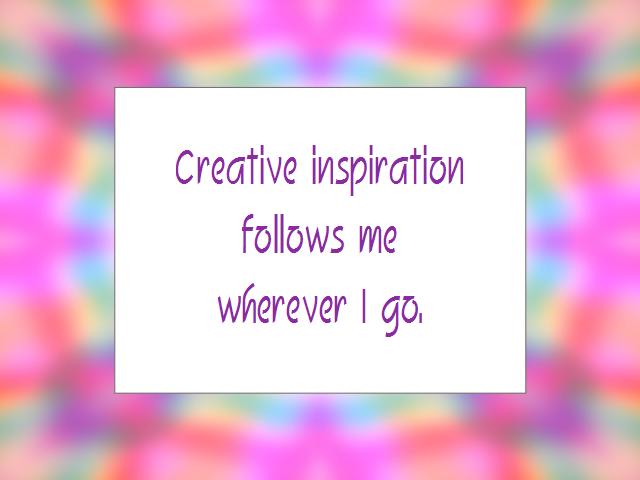 CREATIVITY affirmation