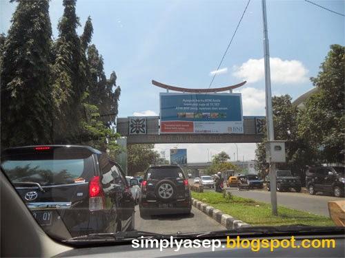 Secuil kota Semarang dari darat