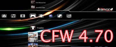 Cara Install Dan Download CFW 4.70 V1.00/V1.01 NOBD Untuk PS3 Terbaru