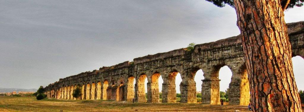 Pan archeologia natura territorio il parco degli for Antica finestra a tre aperture