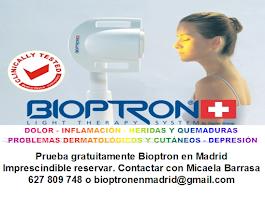 BIOPTRON.TERAPIA DE LUZ SIN EFECTOS SECUNDARIOS NEGATIVOS. SESIONES GRATUITAS