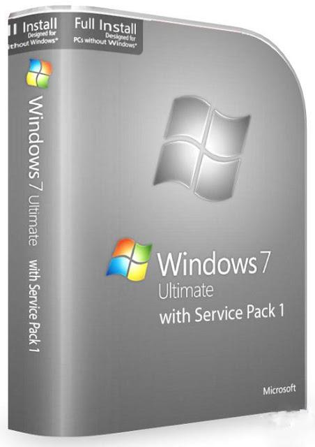 Windows 7 Ultimate SP1 Original Full Version 32 / 64 bit ...