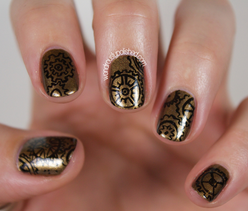 Wondrously polished 31 day challenge 20 day 7 metallic i was really curious what this polish would look like with a matte top coat no surprise here its amazing looking ive included a few shots with the prinsesfo Gallery