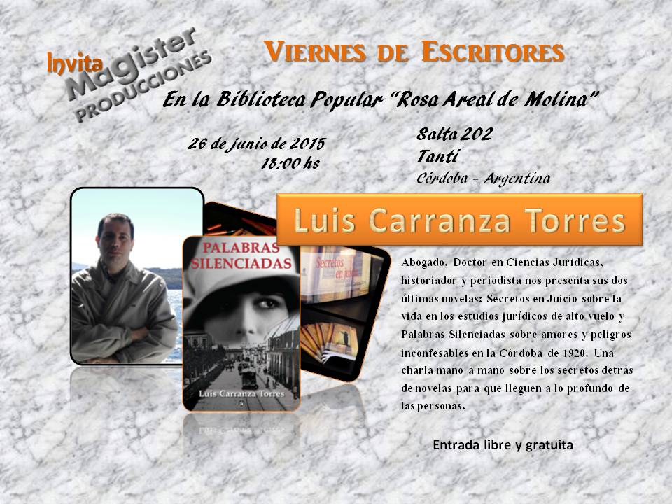 Luis Carranza Torres en Tanti