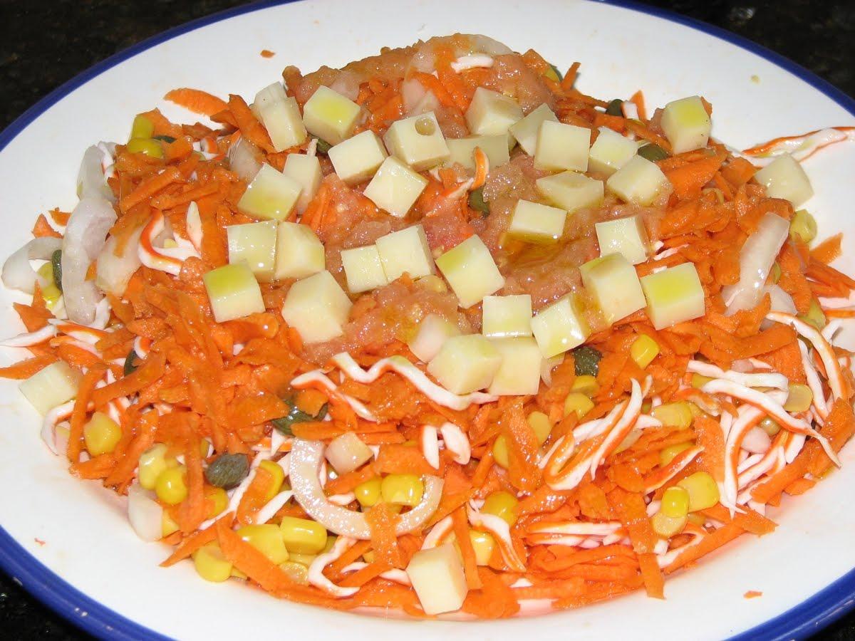 Corderete ensalada de zanahoria - Ensalada de zanahorias ...