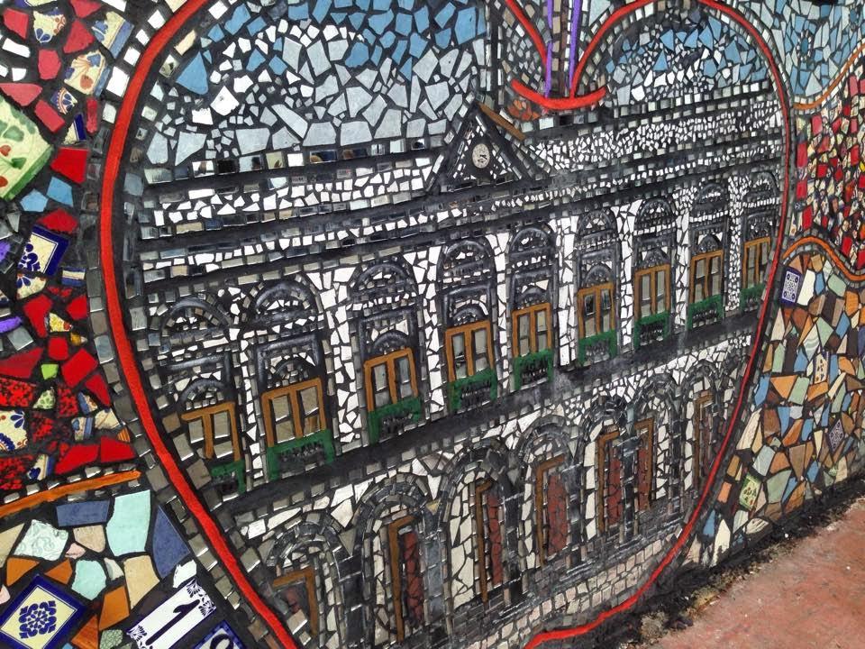 Vista del mural del Paseo de la Barranca en Zacatlán