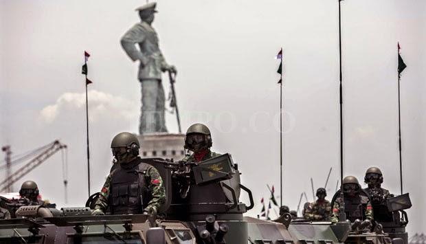 Mantan Panglima, Perayaan HUT TNI ke-69 Termewah