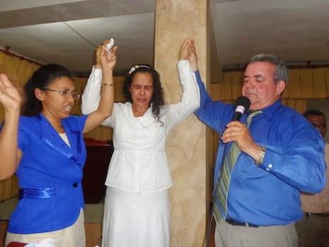 Ana Celeste De Jesús, ungida como pastora Ministerio de La Tribuna e IJJN