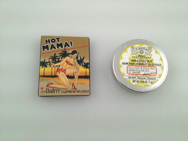 theBalm Hot Mama Blush & J.R. Watkins Hand & Cuticle Salve Birchbox