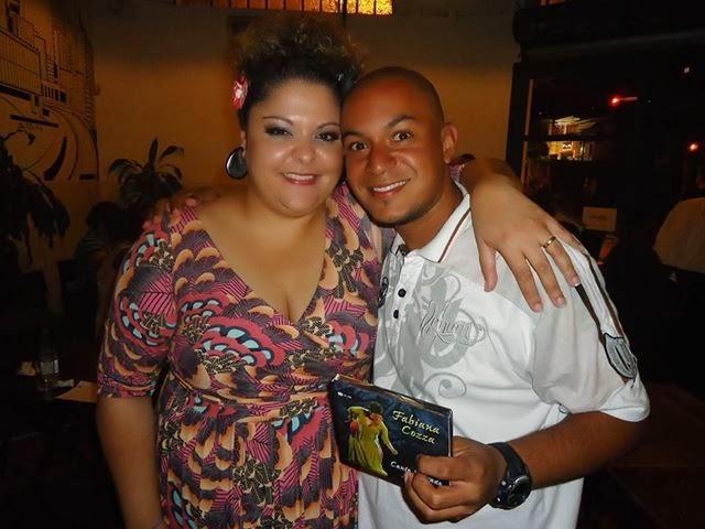Hugo Paz e Fabiana Cozza