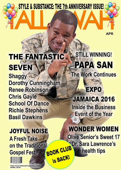 > APRIL 2016 - TYRONE 'PAPA SAN' THOMPSON