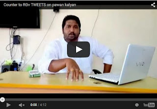 Counter to RGv TWEETS on PawanKalyan | Every Pawan Kalyan Fan Must Watch And Share | Latest Movie News | HD Videos