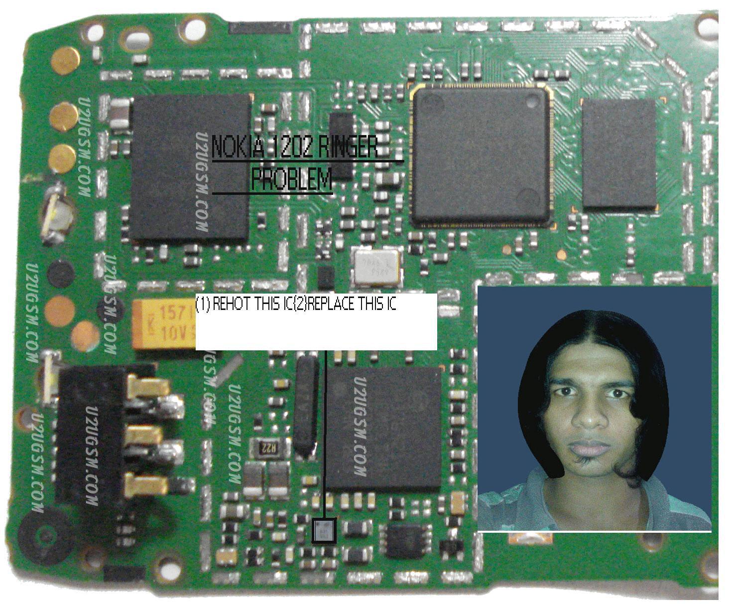 Nokia 1202 2 Nokia 1202 ringer solution
