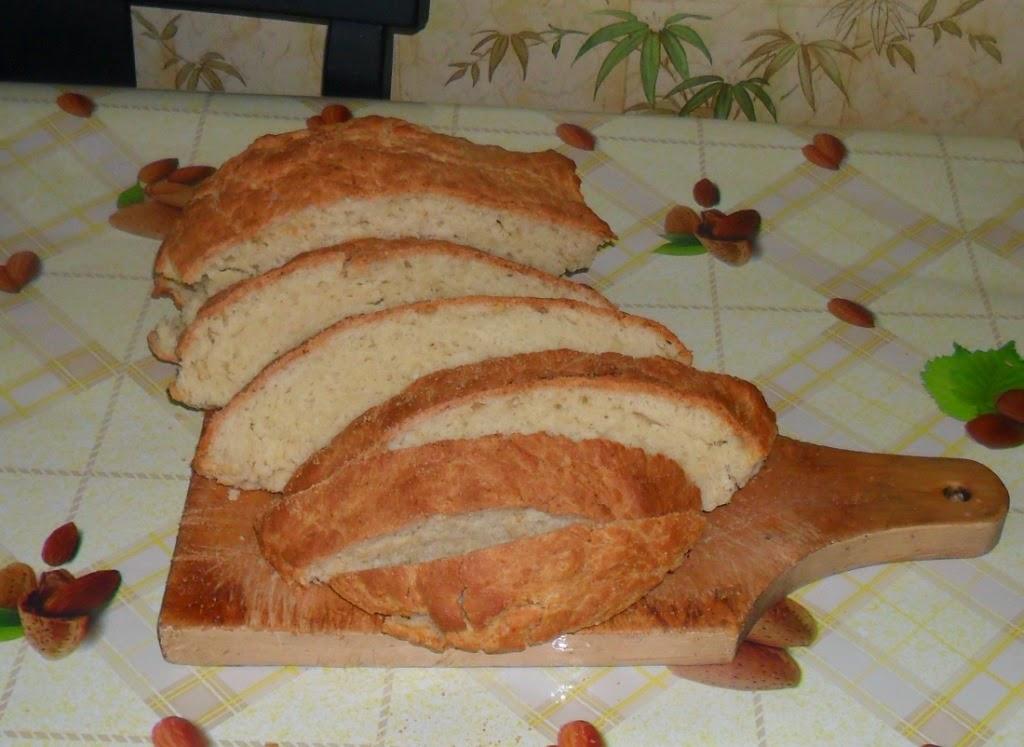Пеку хлеб без дрожжей на кефире