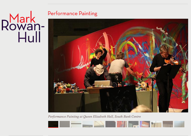 Mark Rowan-Hull - Performance Painting