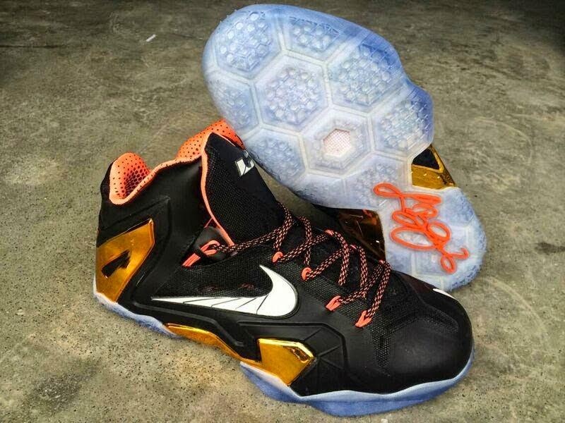 buy online 086dc d9ebc 07218 c43ec  order nike lebron 11 elite black mango gold 2014 sepatu basket  jual dcc4a c3bc9