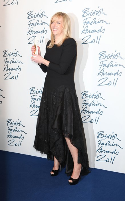 Sarah Burton en los British Fashion Awards 2011