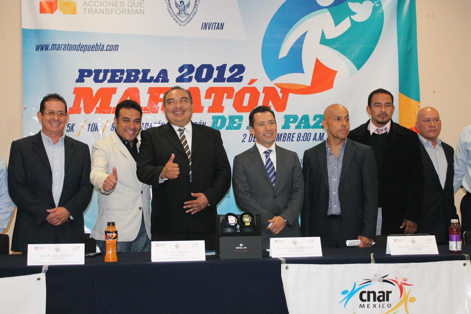  En diciembre ser el Maratn Internacional La Paz Puebla 2012 maraton internacional la paz puebla 2012 centro nacional de desarrollo de Talentos deportivos y alto rendimiento 