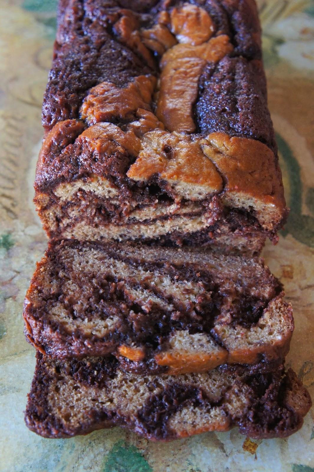 Mocha Cappuccino Hazelnut Banana Bread: Savory Sweet and Satsifying