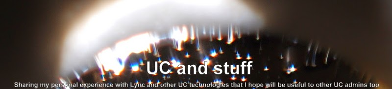 UC and stuff