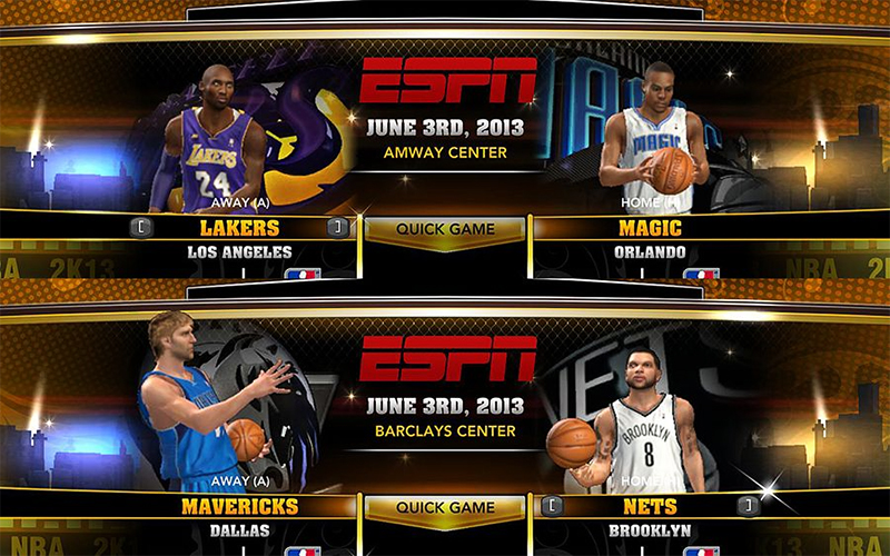 NBA 2K13 NBA on ESPN Mod (Scoreboard & Logos) - NBA2K.org