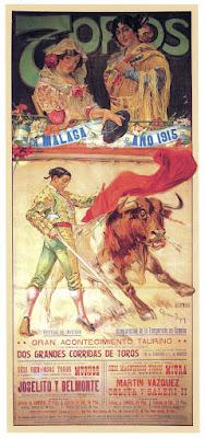 Málaga - Cartel Taurino 1915
