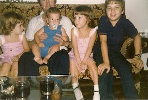 Ana Cristina,Silvia ,Antonio Calviño hijo, Antonio Calviño padre y Alexander J Montoto