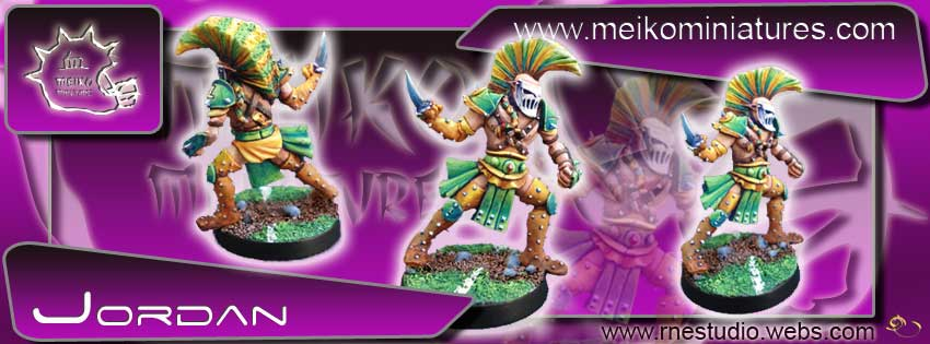 Elves - Jordan Fresh Air Elf Star Player - Meiko Miniatures