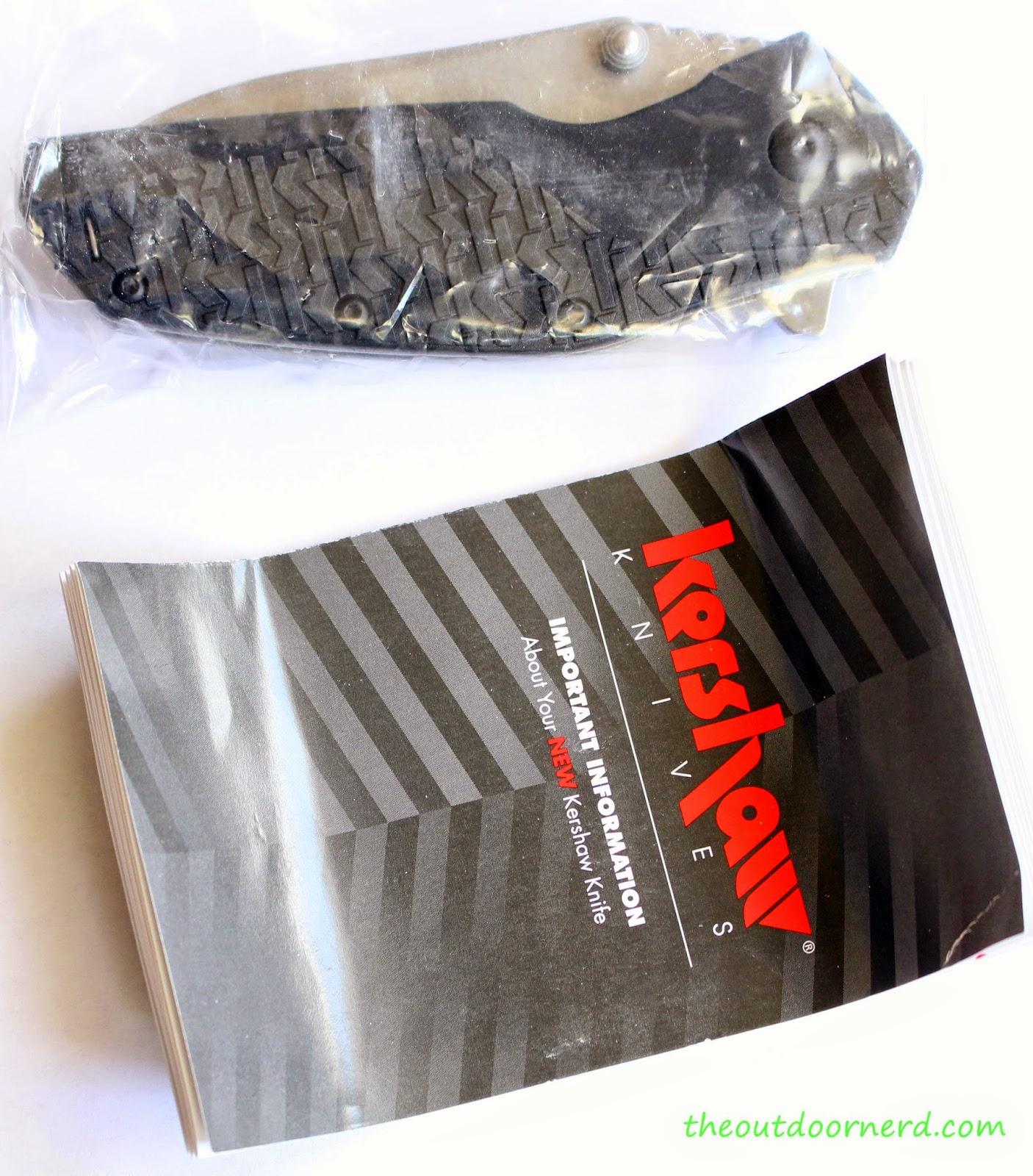Kershaw Swerve EDC Pocket Knife:  In Box 3