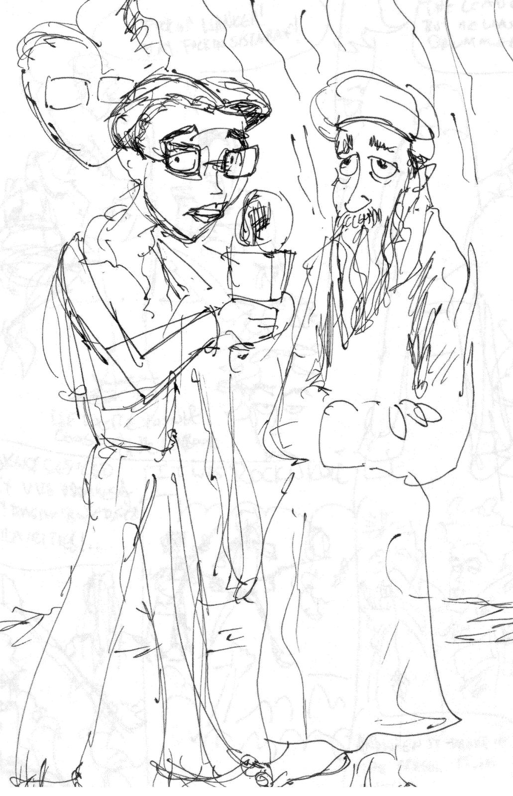 Childrens coloring sheet of saul and ananias - Coloring Pages Of Saul Road