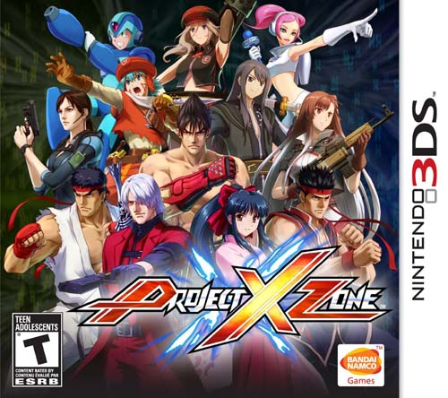 Project X Zone Decrypted 3DS USA