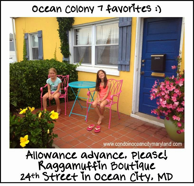 Ocean Colony 7 favorite Raggamuffin Boutique in Ocean City, MD