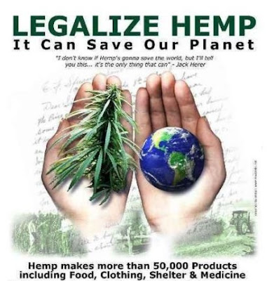 Legalize Industrial Hemp - save our planet - Soul Flower