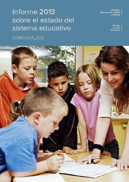 Informe 2013 el estado del sistema educativo