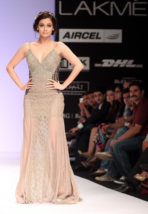 dia mirza was dressed up as a fairytale princess