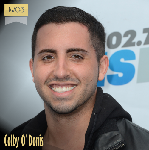 14 de marzo | Colby O'Donis - @Colbyodonis | Info + vídeos