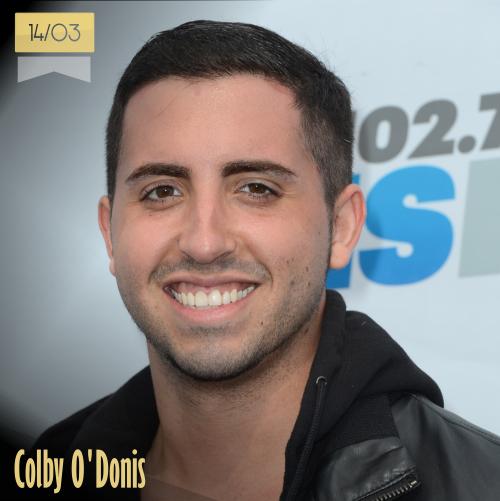 14 de marzo | Colby O'Donis - @Colbyodonis | Info + vídeos