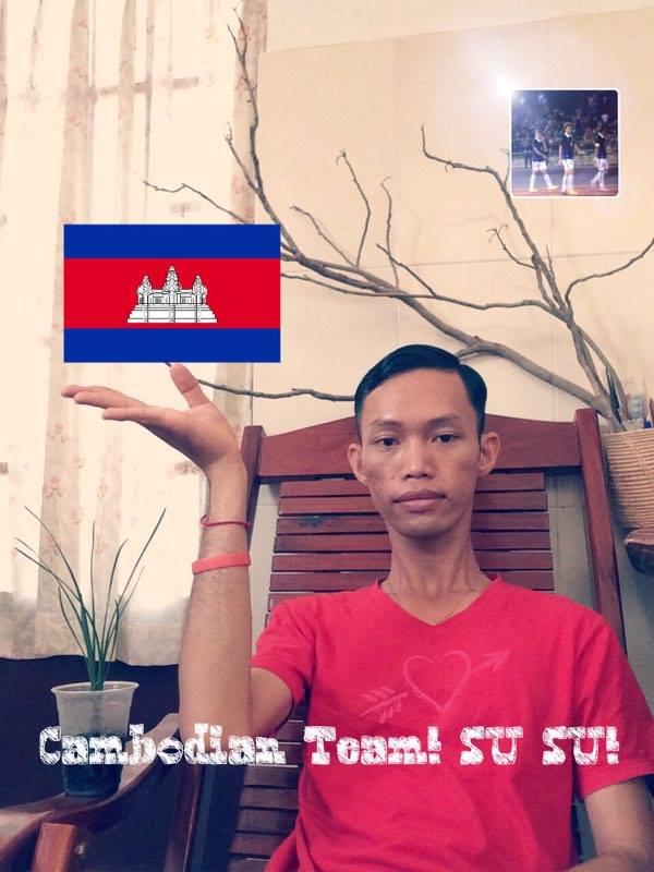 Cambodian Team! SU SU!
