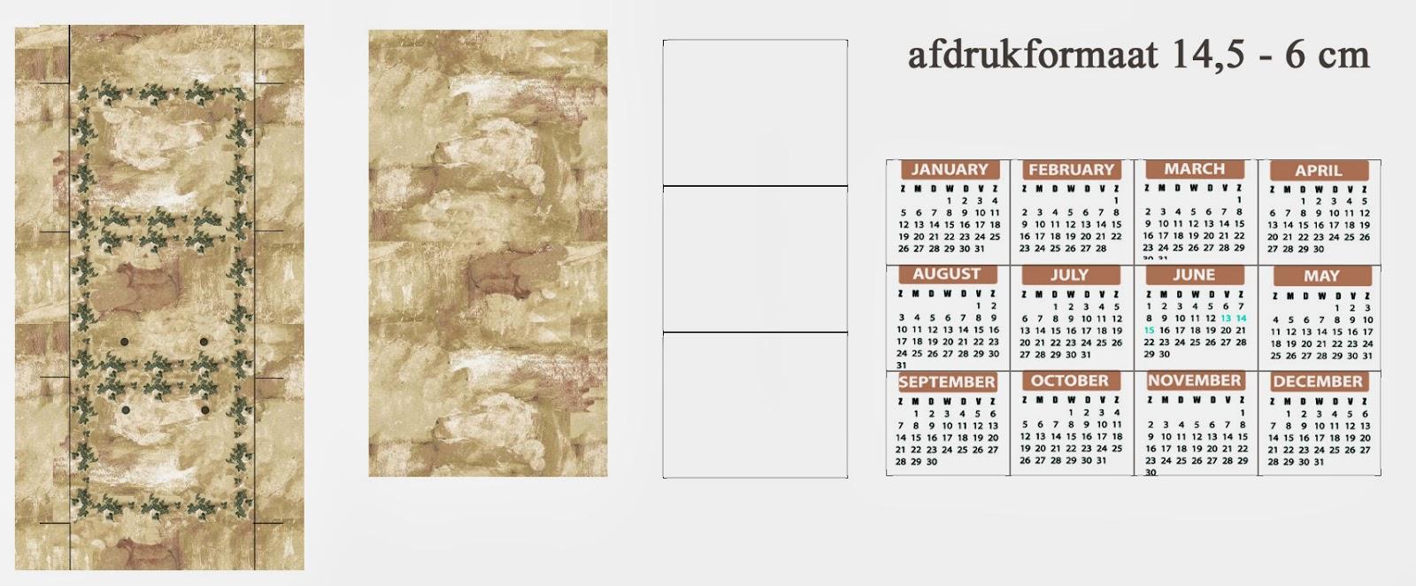 MINIDESIGN: Kalender 2014