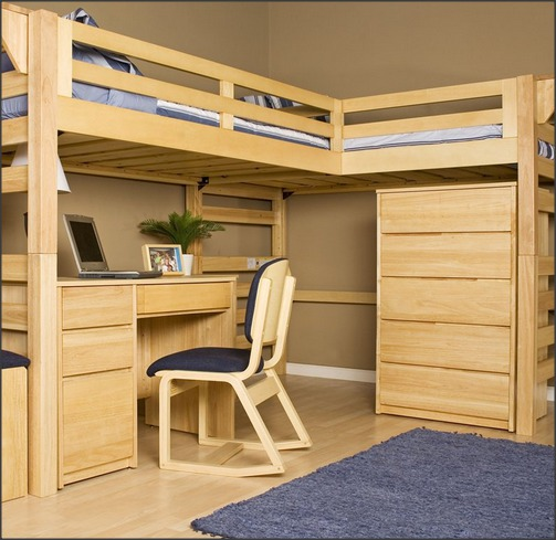 Triple Bunk Bed Plans 503 x 489