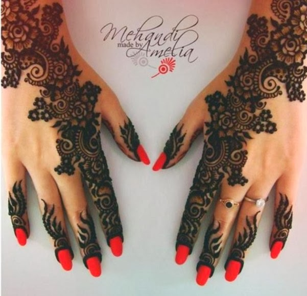 New Mehndi Ceremony : Amelia mehndi design for wedding ceremony news