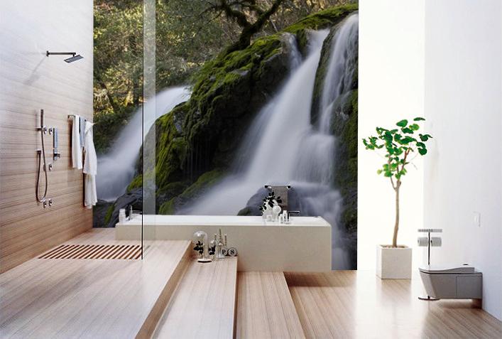 Hogares frescos un tapizado especial para dise ar el - Papel pared autoadhesivo ...