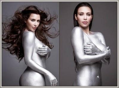 Foto Bogel Kim Kardashian Tersebar