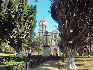 Atrio del Convento de Malinalco