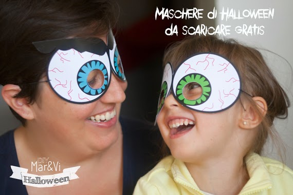 Maschere di Halloween da scaricare gratis