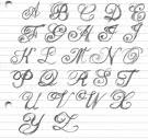 Font tattoo design