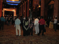 Guests at the foyer before the start of event