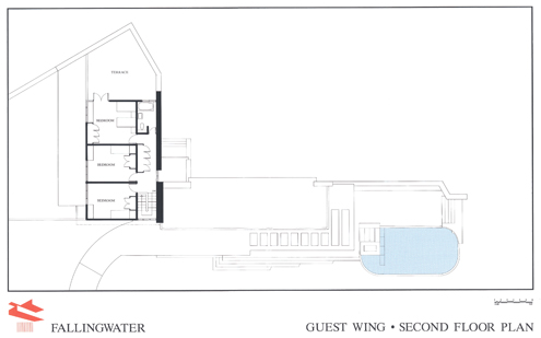 Fallingwater House Frank Lloyd Wright besides House Plans With Balcony And Deck moreover 2 Story House Plans Under 1200 Sq Ft likewise Architecte Maison additionally Dream Home House Plans. on four bedroom house floor plans