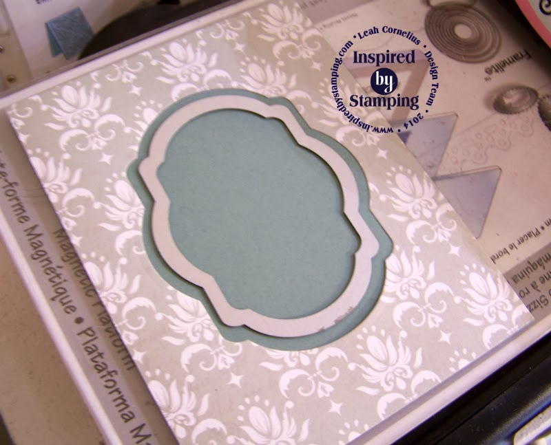 Inspired by Stamping, Leah Cornelius, WHW Tutorial #129, Spring Lilacs Stamp Set, Birthday Card